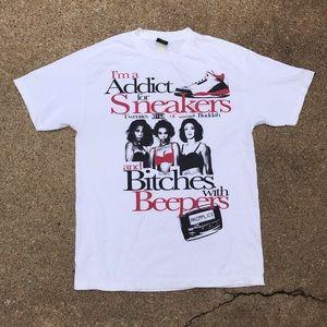Vintage Akomplice Sneakers Addict T-shirt